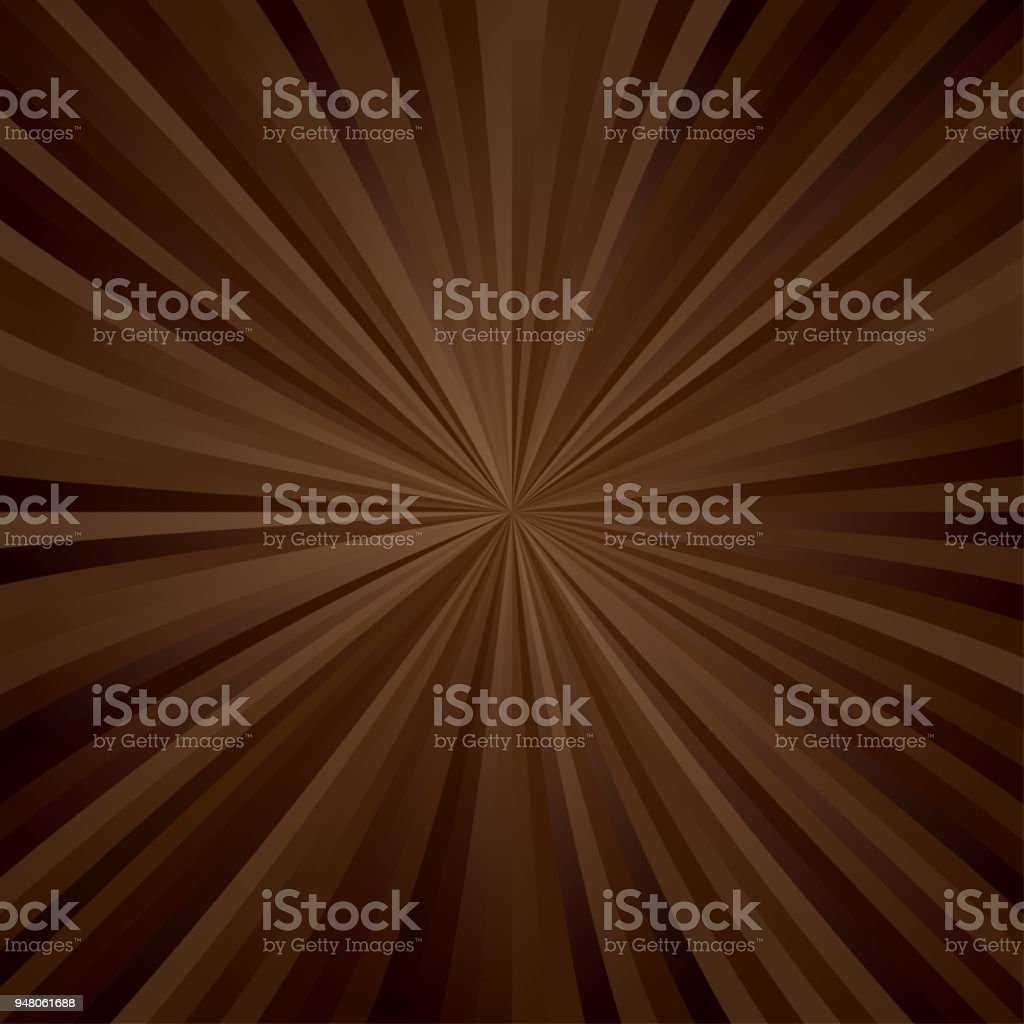 Brown ray pattern design vector art illustration