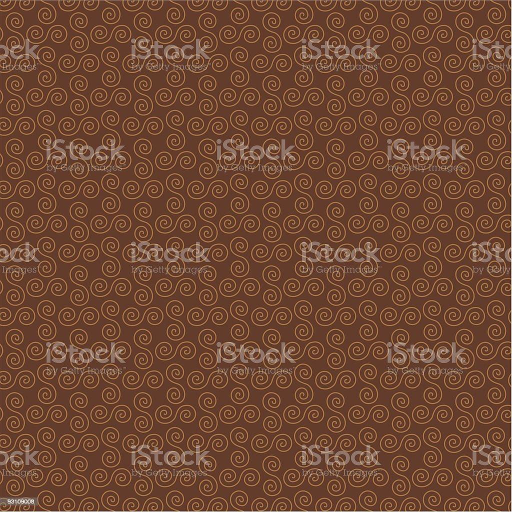 brown swirl background pattern royalty-free stock vector art