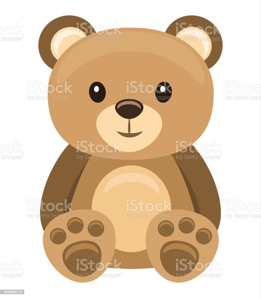 royalty free teddy bear clip art vector images illustrations istock rh istockphoto com clip art teddy bear free clip art teddy bears images
