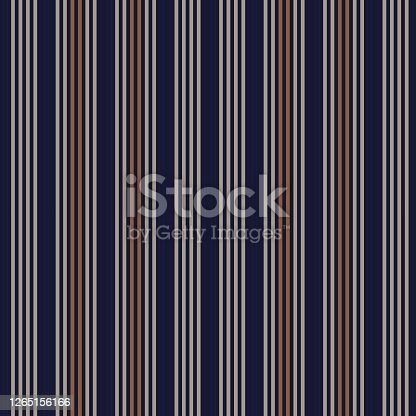 istock Brown Vertical Stripes seamless pattern background 1265156166