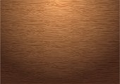 Brown wood plate texture pattern with down light vector background illustration.