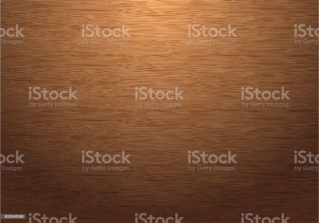 Placa de madera marrón textura patrón abajo ilustración de fondo de vectores de luz. - ilustración de arte vectorial
