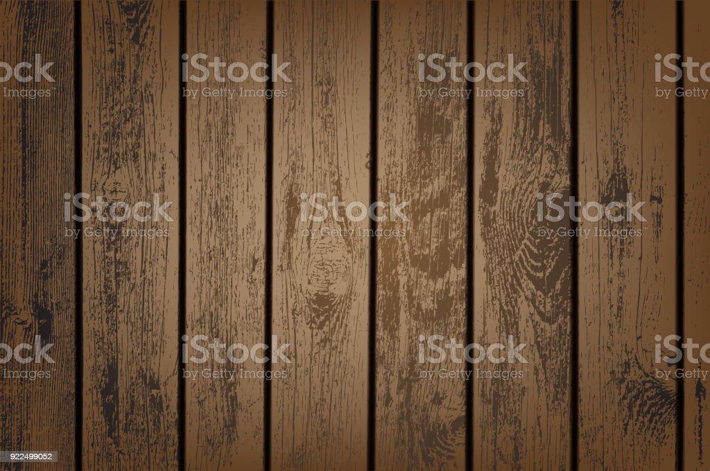 Marrón paneles de madera - ilustración de arte vectorial