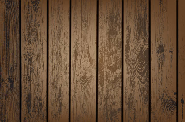 brown wooden panels - wood texture stock illustrations