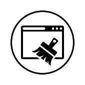 Well organized and fully editable Browser cleaner, cleanup, broom icon for any use like print media, web, commercial use or any kind of design project. Hope this icon help you. Thanks for using it.