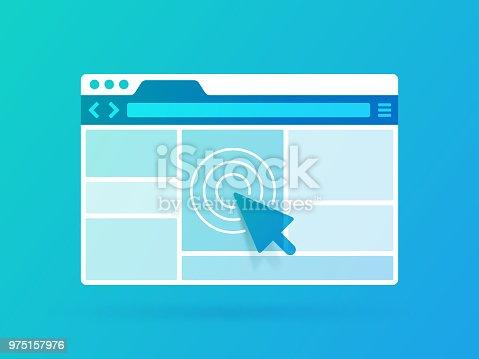 istock Browser Window 975157976