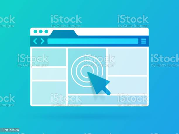 Browser Window Stock Illustration - Download Image Now