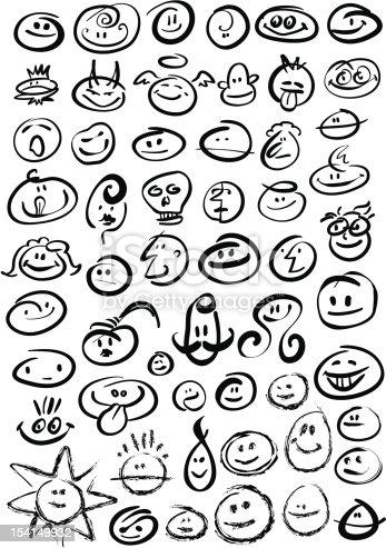 istock Brush Stroke Smileys 154149932