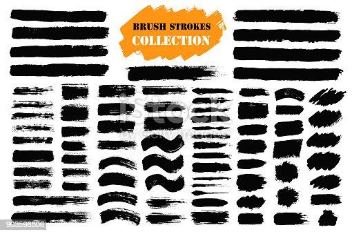 istock Brush strokes text boxes 903598506
