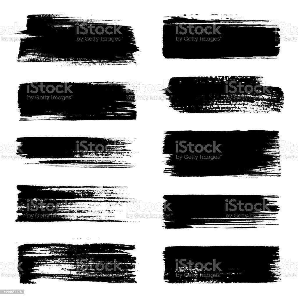 Brush strokes – Vektorgrafik