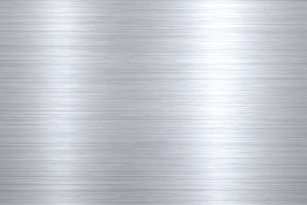 Brushed metal background Metal texture background can be used for design. With space for text. metal stock illustrations