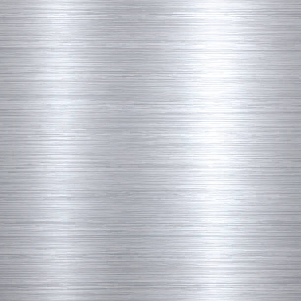 Brushed metal background Metal texture background can be used for design. With space for text. brushed metal stock illustrations