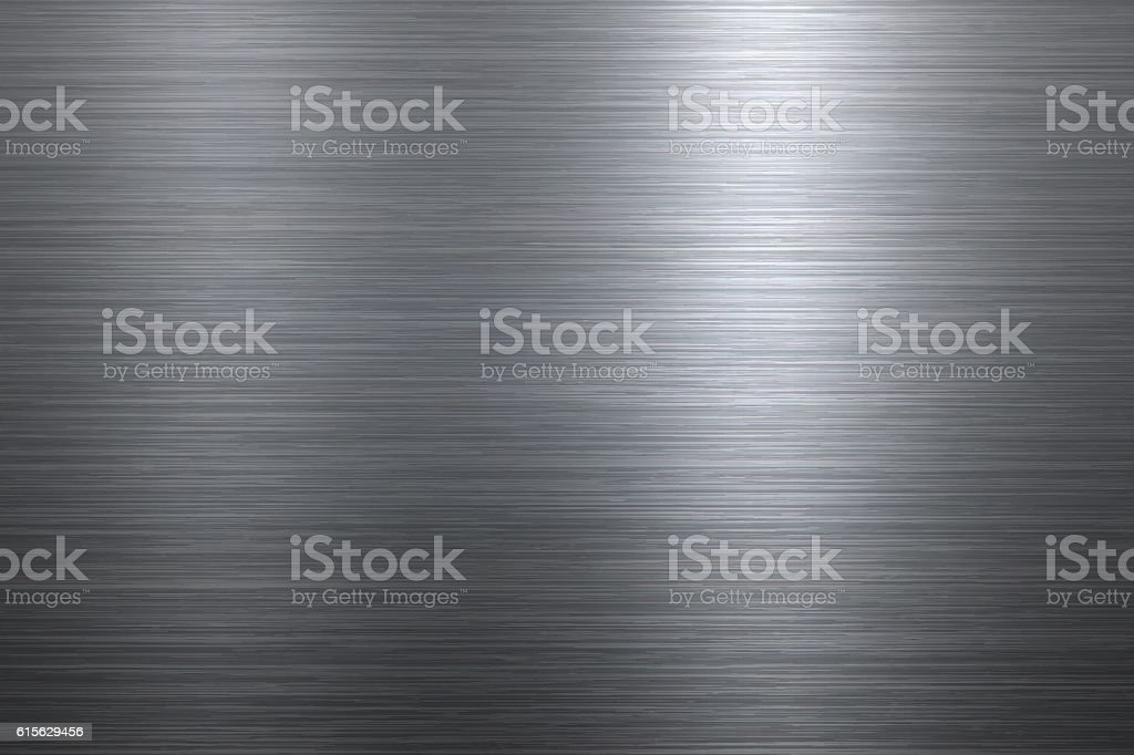 Brushed metal background向量藝術插圖