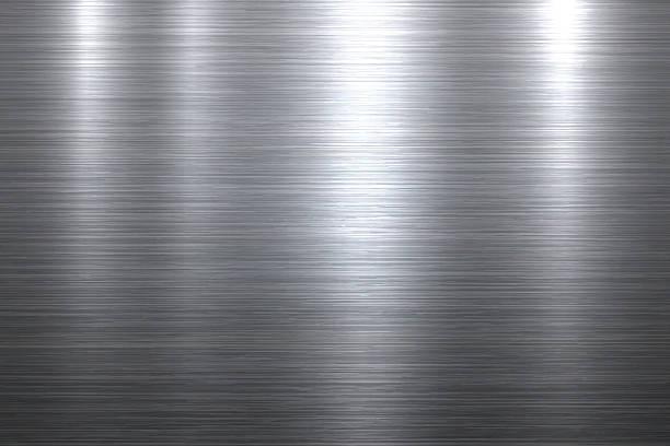 Brushed metal background向量藝術插圖
