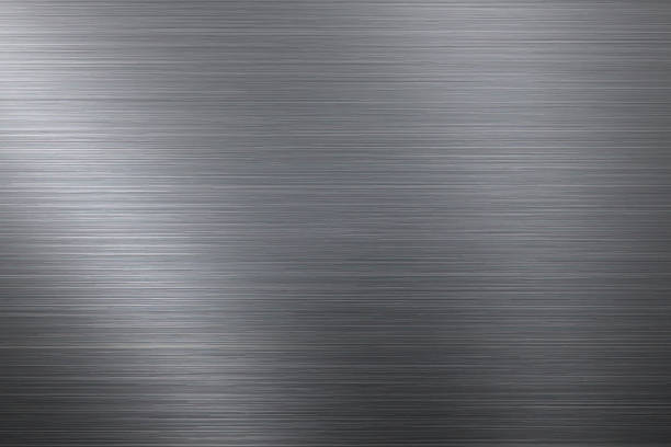 Gebürstetes Metall Hintergrund  – Vektorgrafik