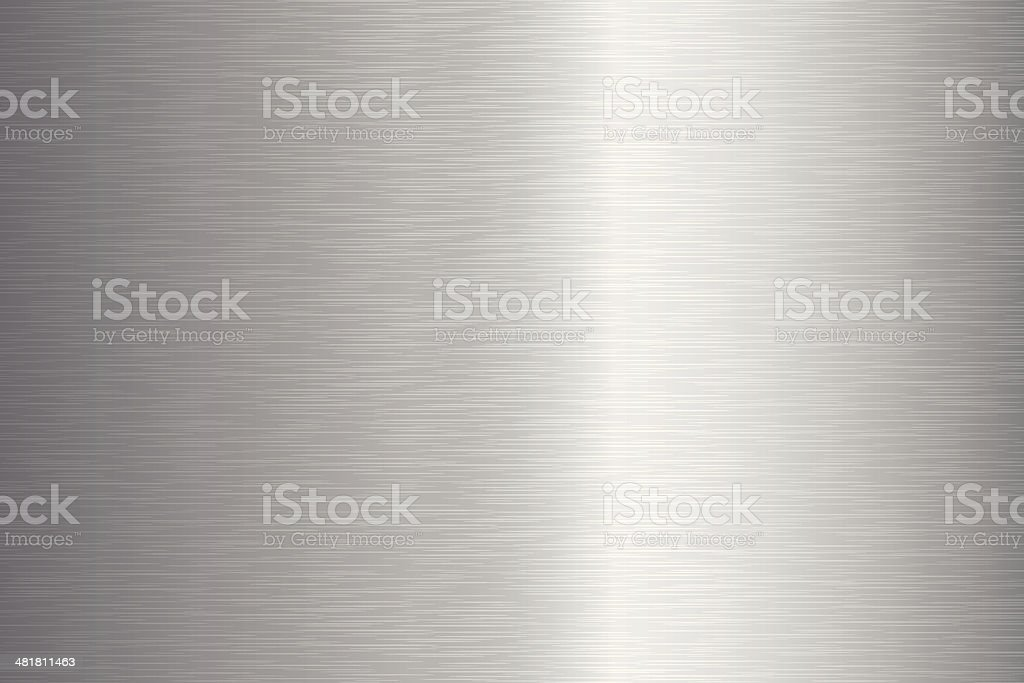 Brushed Metal Texture royalty-free stock vector art