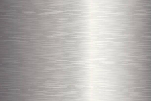Gebürstetes Metall Textur – Vektorgrafik