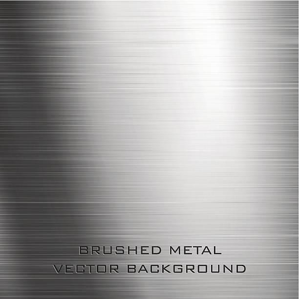 Gebürstetes Metall – Vektorgrafik