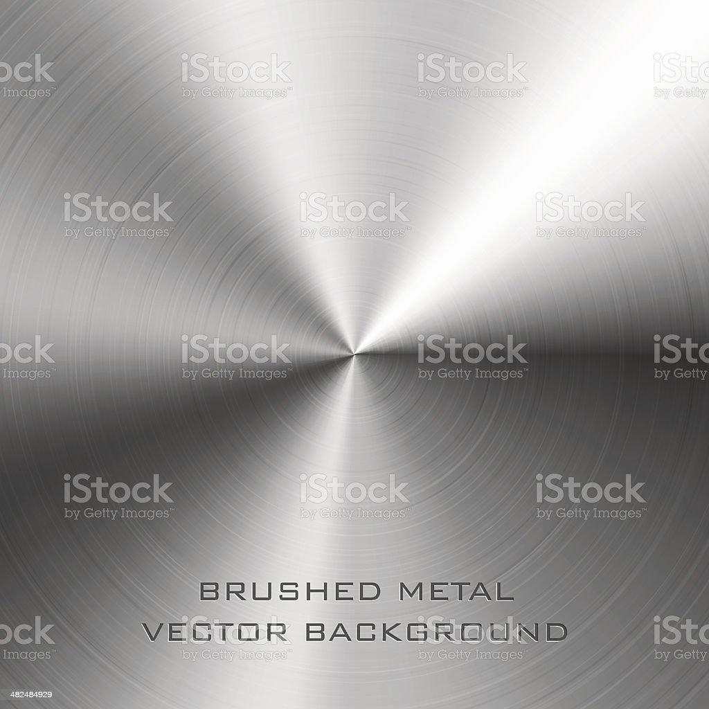metal cepillado - ilustración de arte vectorial