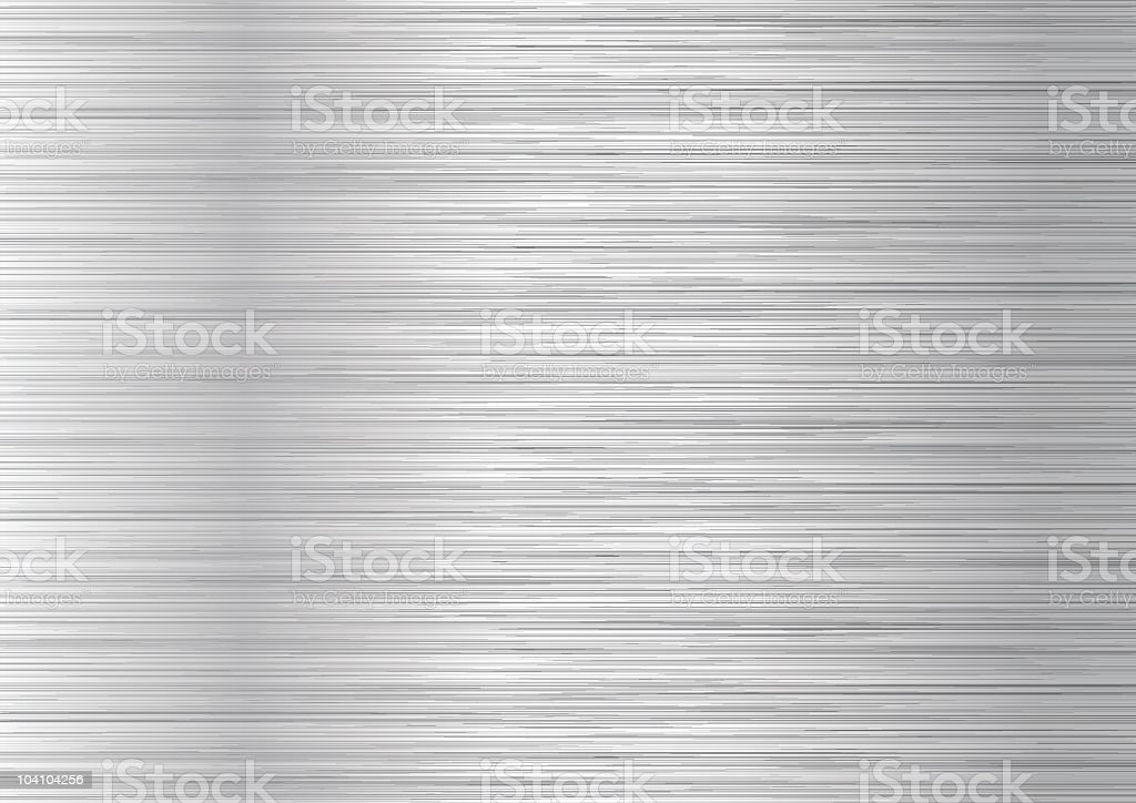 brushed stainless steel textured surface template stock vector art
