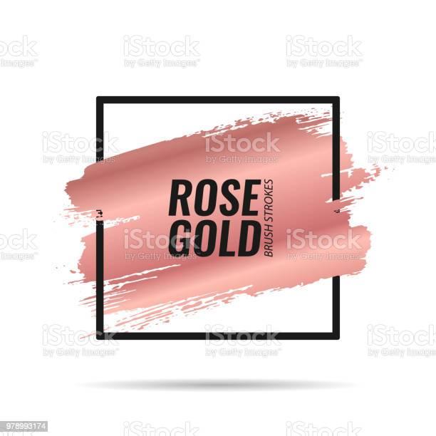 Brushes strokes banner rose gold vector id978993174?b=1&k=6&m=978993174&s=612x612&h=zd2hjiqdwcgdj8s7rgppl4 irdya110gn5m8wjervs4=