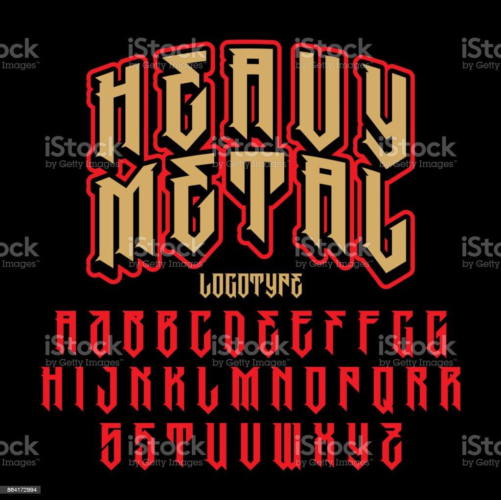 Brutal font royalty-free brutal font stock vector art & more images of alphabet