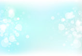 Bubble air blurry scatter and dust particles blinking freshness magic concept abstract background vector illustration
