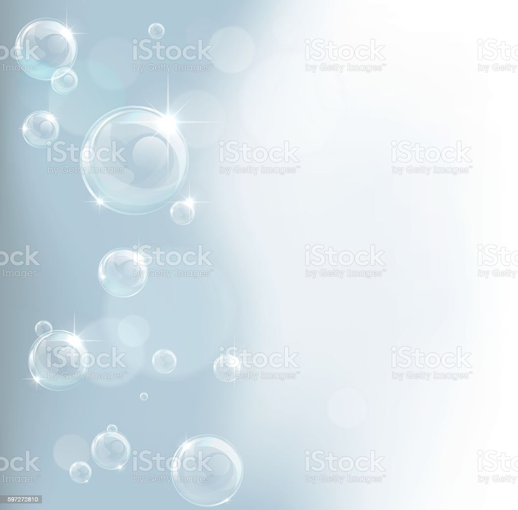 Bubble Backgound vector art illustration