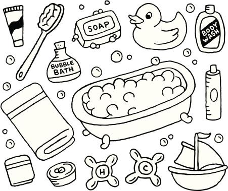 Bubble Bath Doodles