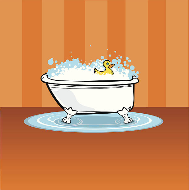 Bath Bubbles Cartoon Free Vector Graphic On Pixabay: Best Bubble Bath Illustrations, Royalty-Free Vector