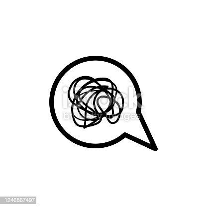 istock bubble chat complicated vector design template illustration 1246867497