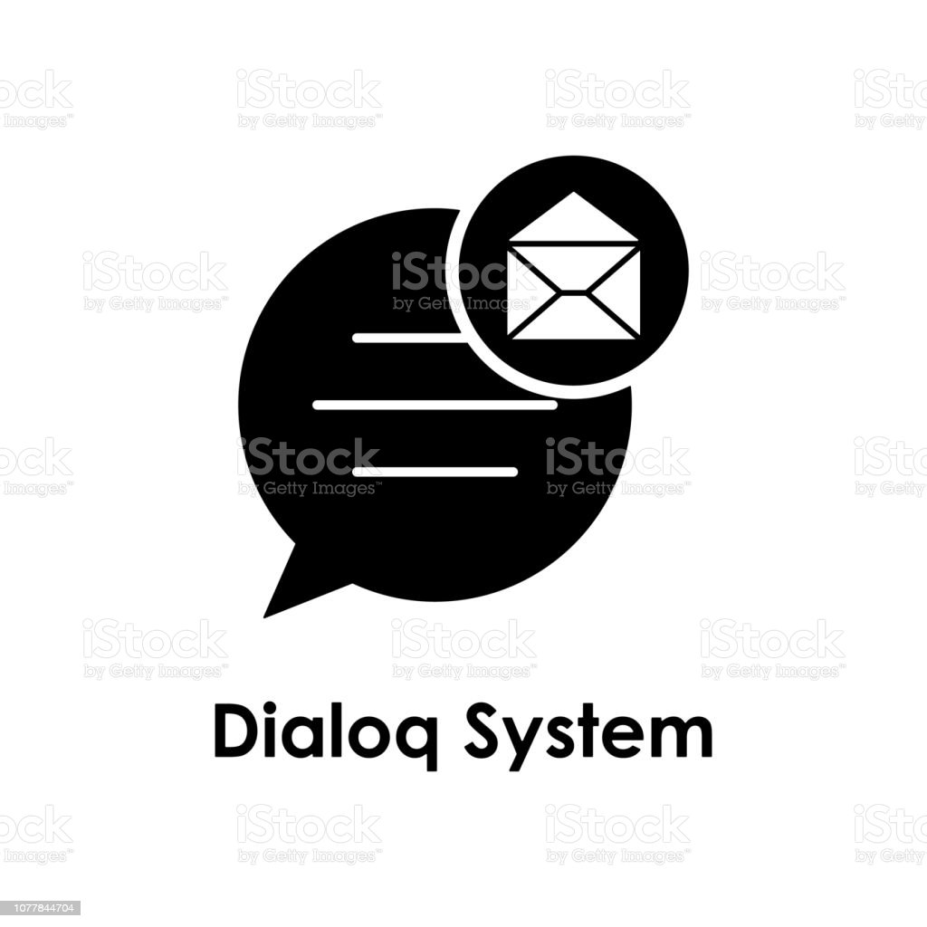 Bubble Envelope Dialog System Icon Element Of Business Icon For