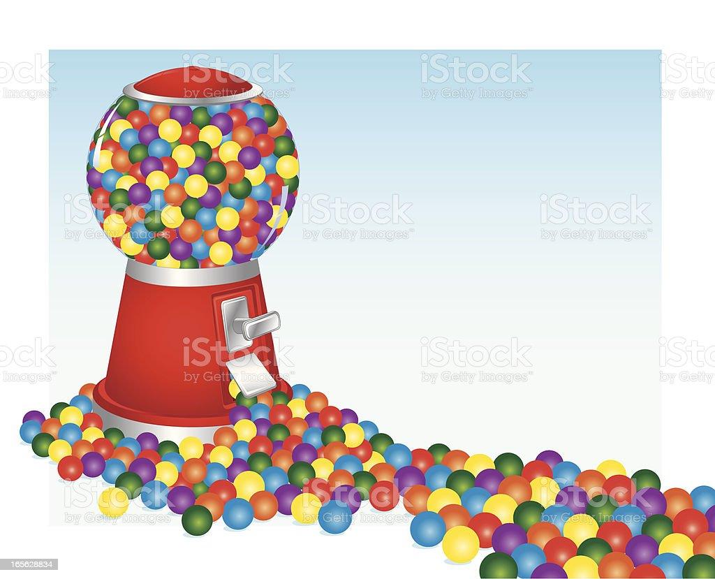 Bubble Gum Bonanza royalty-free bubble gum bonanza stock vector art & more images of abundance