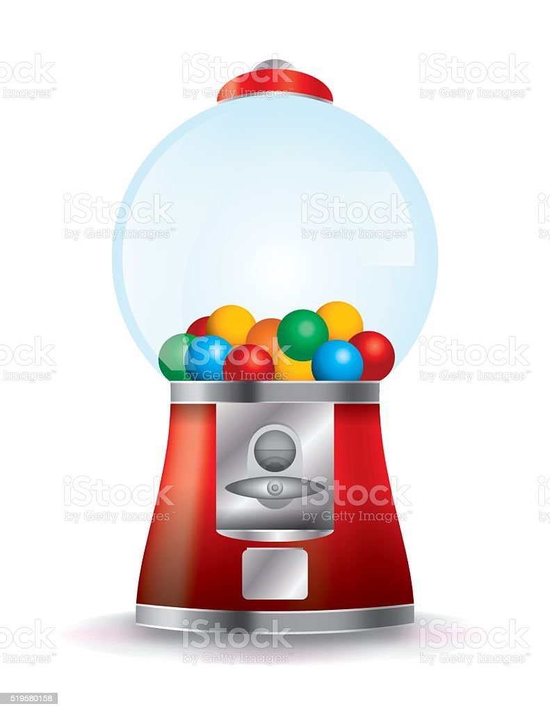 royalty free gumball machine clip art vector images illustrations rh istockphoto com  empty bubble gum machine clip art