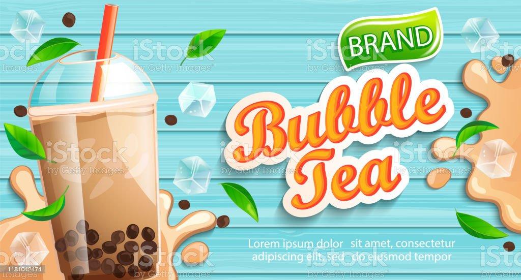 Bubble Tea Banner Sign
