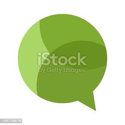 istock bubble speech symbol illustration 1347738276