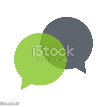 istock bubble speech symbol illustration 1347738521