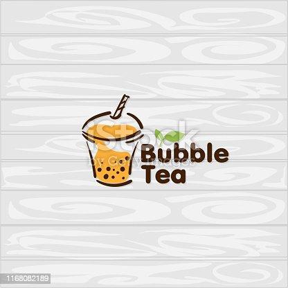 istock bubble tea logo icon graphic template 1168082189