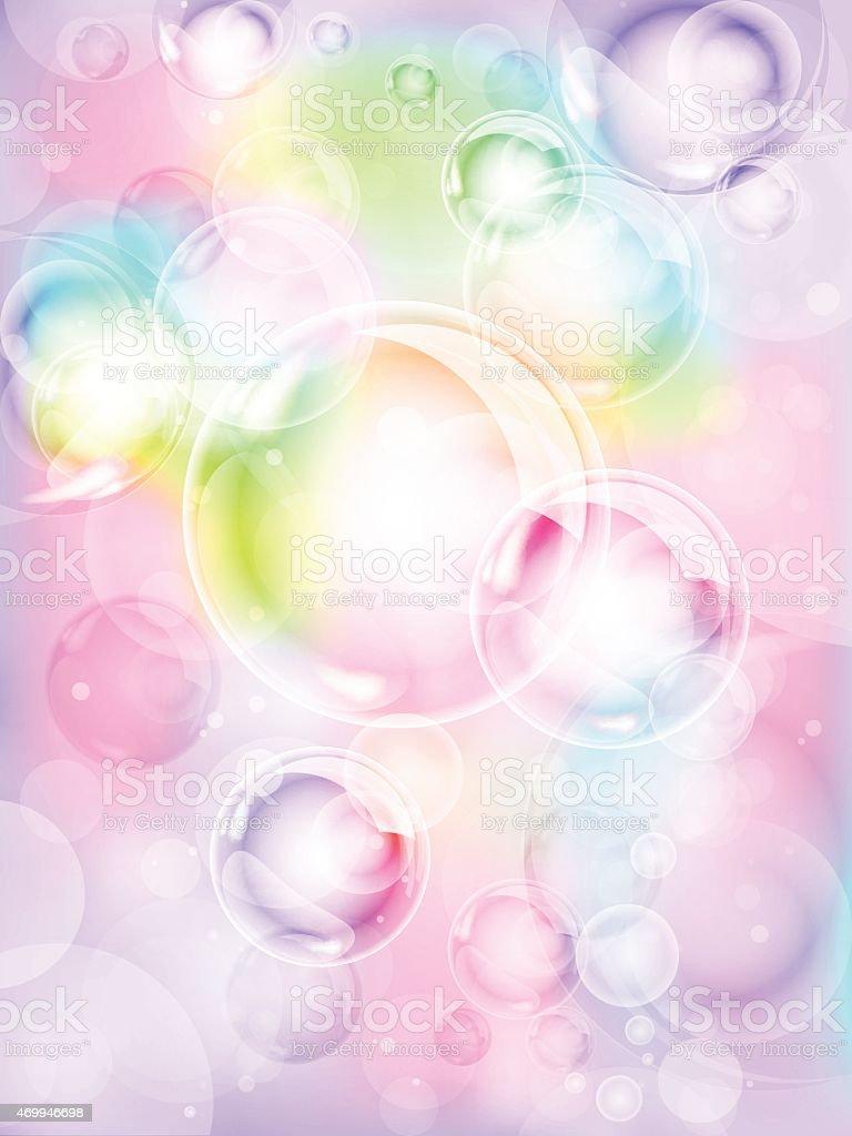 泡の背景 のイラスト素材 469946698   istock