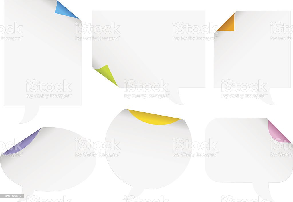Bubbles Paper #1 royalty-free stock vector art