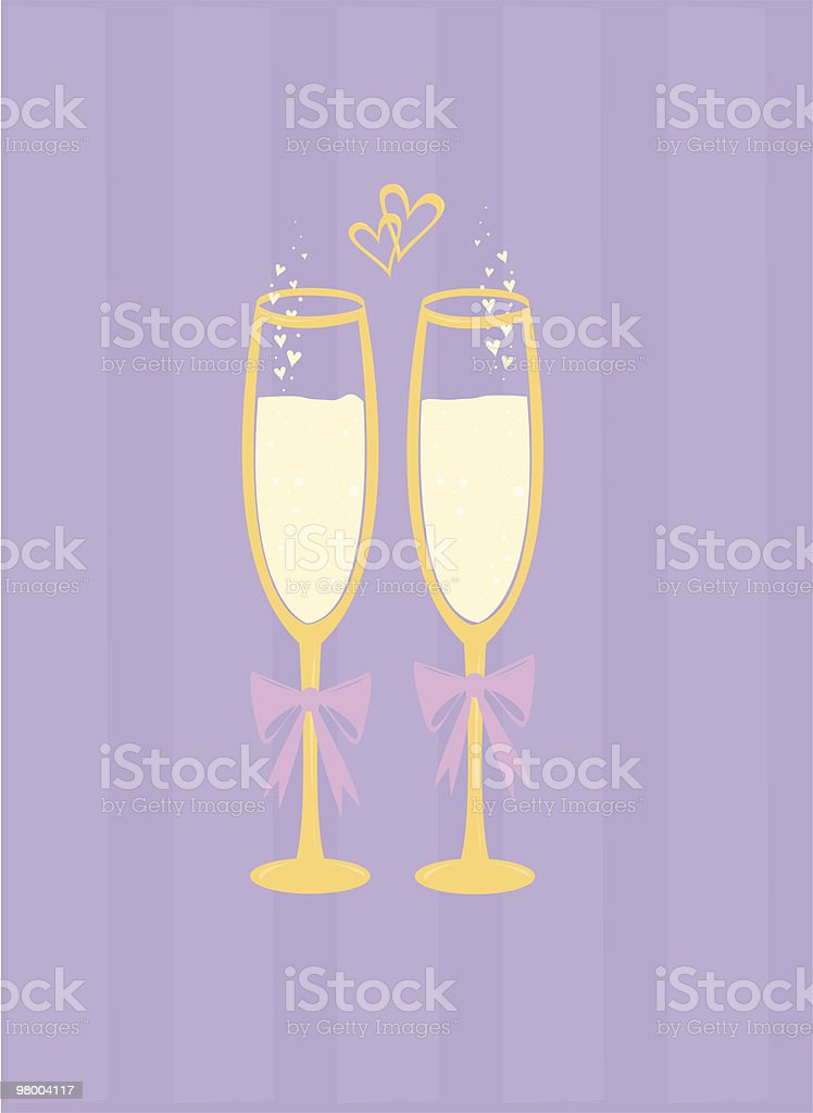 Bubbly Love royalty-free stock vector art