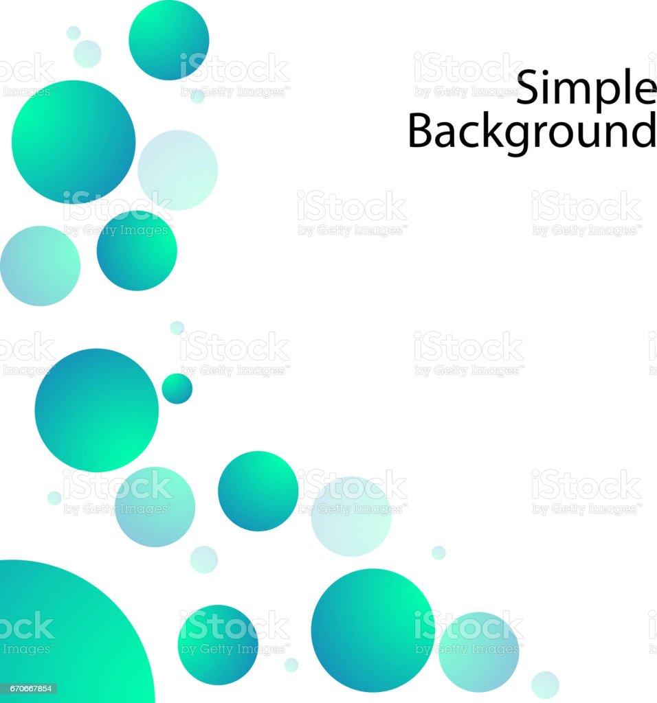 buble ball background vector vector art illustration