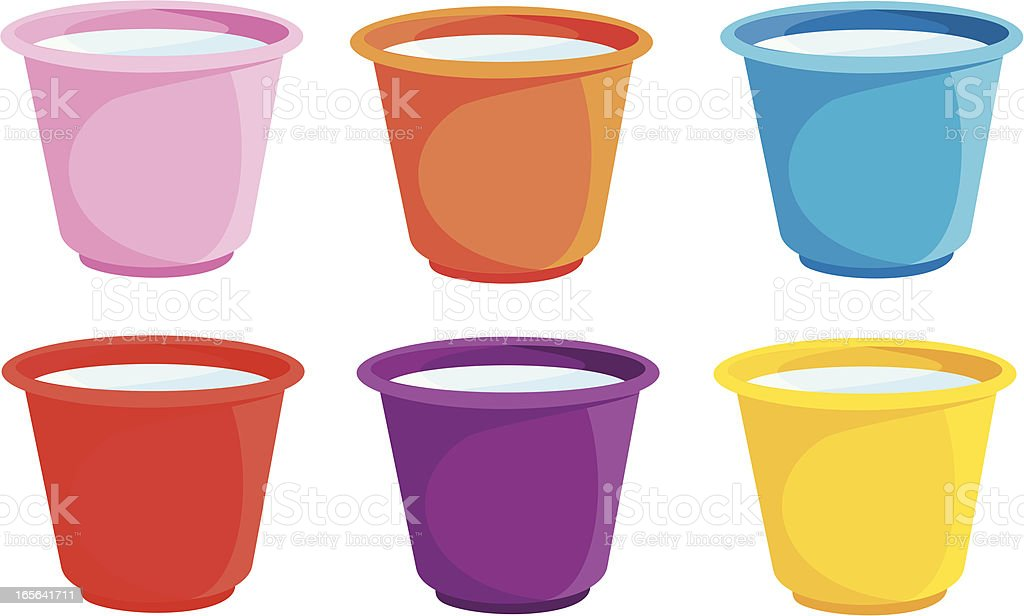 Bucket icon vector art illustration