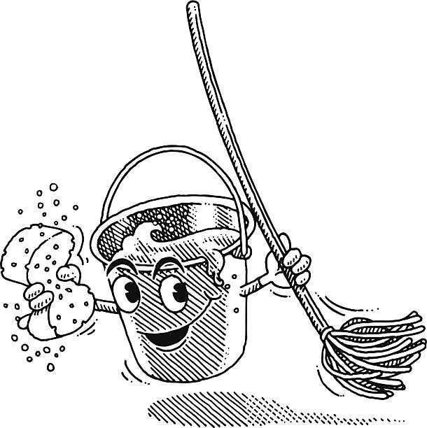Black And White Cartoon Mop And Bucket 1480591 together with Baby Peacekeeper Dum Mee Mee Shopkins Season 2 Printable Coloring Pages Book 14304 moreover Kind Als Pirat Verkleidet furthermore Black And White Freehand Drawn Cartoon Mop Eps Gm524894794 92286331 in addition 80538 bucket. on a black mop