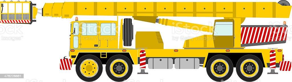 Bucket truck. royalty-free bucket truck stock vector art & more images of bucket