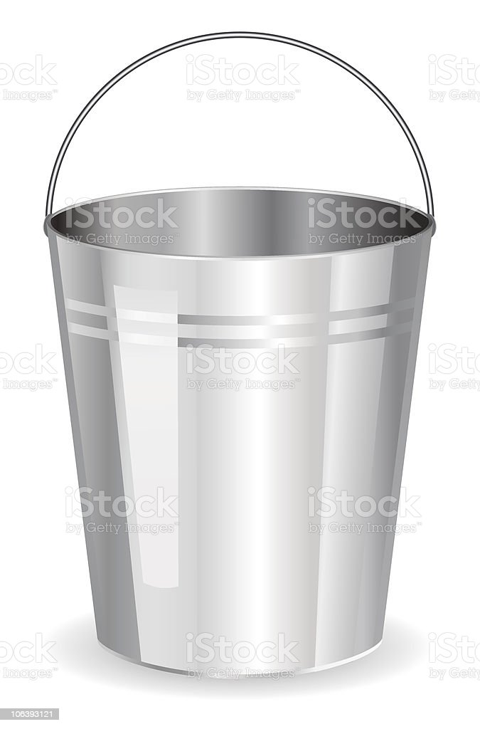 Bucket royalty-free bucket stock vector art & more images of aluminum
