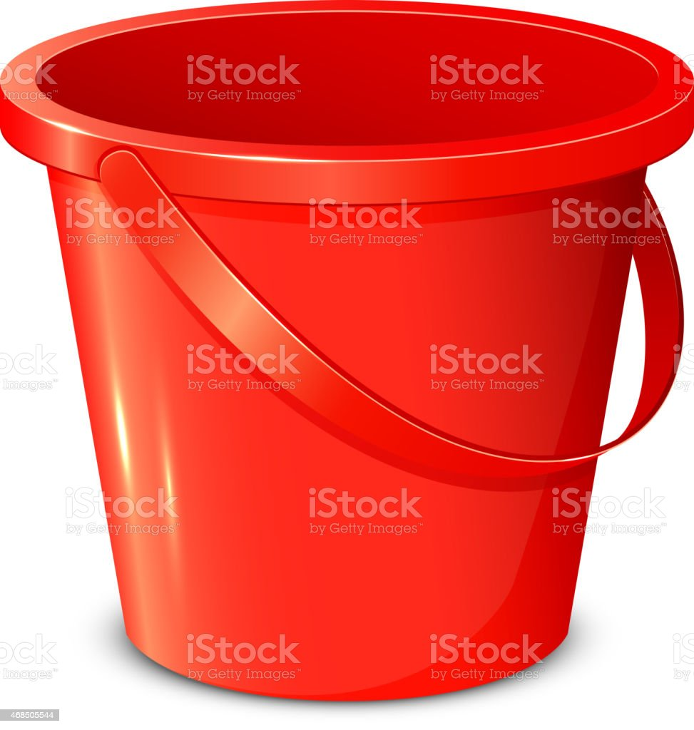 Bucket vector art illustration