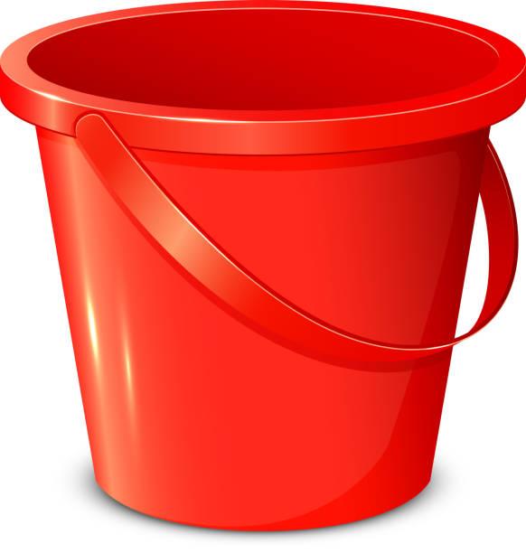 Bucket vector art illustration