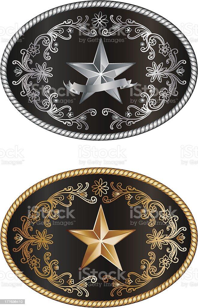 Buckle royalty-free stock vector art