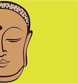 Buddha vector art
